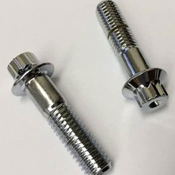 12 point hex flange bolts