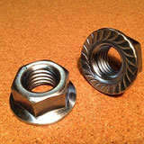 Gr 8M Serrated Flange Nuts