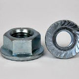 Grade 12.9 Serrated Flange Nuts