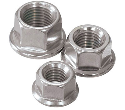 Serrated Hex Flange Nuts